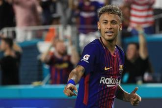 Neymar's move to PSG is likely to be completed for a world-record €222 million transfer fee. Photo: AFP