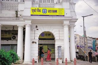 The bank had reported a net loss of Rs440.56 crore in the corresponding April-June quarter of 2016-17. Photo: Pradeep Gaur/Mint