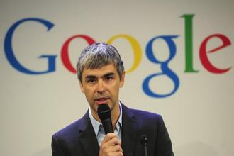 Google co-founder and Alphabet CEO Larry Page. Photo: AFP