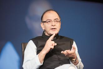 Finance minister Arun Jaitley said Bharat 22 ETF will have a diversified portfolio of companies from six sectors with a 20% cap on each sector and a 15% cap on each stock. Photo: Mint
