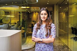 Radha Kapoor, founder of Doit Creations (India) Pvt. Ltd and daughter of Yes Bank MD Rana Kapoor. Photo: Aniruddha Chowdhury/Mint