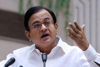 A file photo of Congress leader P. Chidambaram. Photo: AFP
