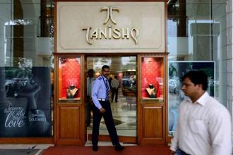 Of the Rs12,717 crore the company earned in 2016-17, Rs10,237 crore came from sales of jewellery retailed mostly under the Tanishq brand. Photo: Pradeep Gaur/Mint