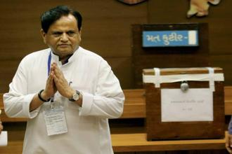 Ahmed Patel's victory Gujarat Rajya Sabha elections marks the beginning of his fifth term as a member of parliament in the upper house. Photo: HT