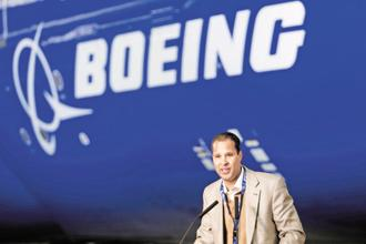 Boeing International president Marc Allen. The aircraft maker is already making the fuselage of its Apache attack helicopters and floor beams for some of its planes in collaboration with the Tata Group in India and has also invested in an engineering unit in Bengaluru. Photo: Bloomberg