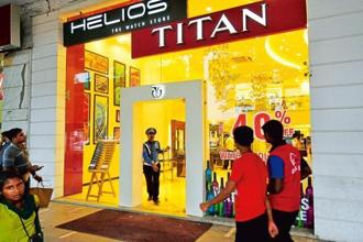 Titan sells its watches in more than 30 countries, with a significant presence in the Middle East, and overall contribution from exports to sales is under 10%. Photo: Mint
