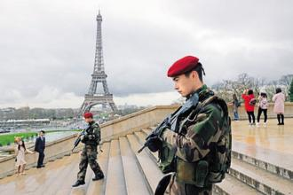 France has been under a state of emergency since November 2015 and has seen a string of attacks on security forces, particularly those guarding key tourist sites. Photo: Reuters