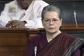Congress president Sonia Gandhi in her Lok Sabha address on the 75th anniversary of the Quit India movement urged to preserve free speech and secularism. Photo: PTI