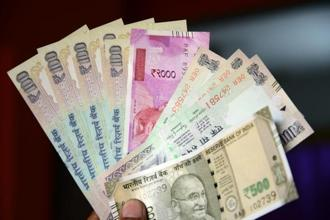 The rupee opened at 63.78 a dollar and touched a high and a low of 63.72 and 63.85, respectively. Photo: Mint