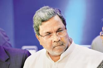Karnataka CM Siddaramaiah said fliers would be handed out to farmers to discourage them from growing water intensive crops. Photo: Hemant Mishra/Mint