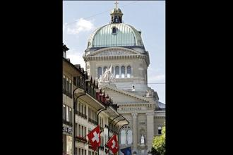 Switzerland has declared India's data security and confidentiality laws 'adequate' for entering into an automatic information exchange pact regarding unaccounted wealth in banks. Photo: Bloomberg