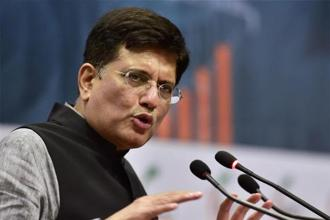 Piyush Goyal said he was happy to announce that the government will complete the task much before the deadlines set. Photo: PTI