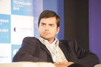 Ola CEO and founder Bhavish Aggarwal. ANI Technologies in backed by SoftBank Group Corp. Photo: Hemant Mishra/Mint