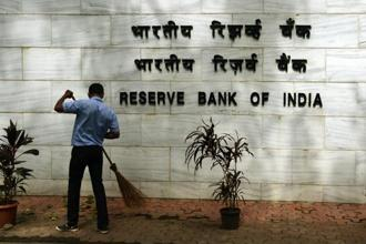 The Reserve Bank of India (RBI) didn't cite a reason for the fall in dividend payout to the government. Photo: AFP