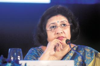 State Bank of India CEO Arundhati Bhattacharya inherited a miserable portfolio of dubious corporate loans, which post-merger have swelled to almost 10% of the total. Photo: Indranil Bhoumik/Mint
