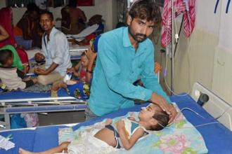 The National Human Rights Commission (NHRC) has sent a notice to the UP government over the deaths of infants at the Gorakhpur hospital. Photo: PTI