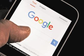 Currently, voice search feature is available in English and Hindi in India. Photo:  Reuters