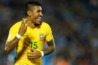 Paulinho, the Brazilian international midfielder becomes Barcelona's first signing since they banked a world record €222 million from Neymar's move to Paris Saint-Germain. Photo: Reuters