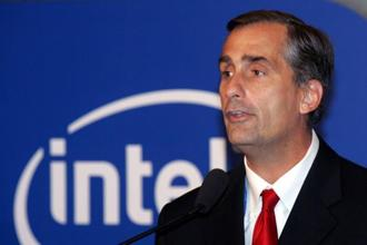 A file photo of Intel CEO Brian Krzanich. Photo: AFP