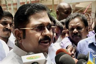 Dhinakaran said the AIADMK was a strong party of 1.2 crore workers and all efforts would be made to strengthen it further. Photo: PTI