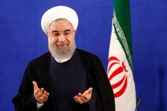 Hassan Rouhani's remarks were likely an attempt to appease hardliners at home, who have demanded a tougher stand against the United States. Photo: AFP