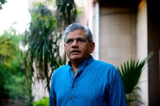 Sitaram Yechury accuses Prime Minister Narendra Modi of 'instructing his cronies to black out voices' of the opposition, including that of an elected chief minister. Photo: Mint