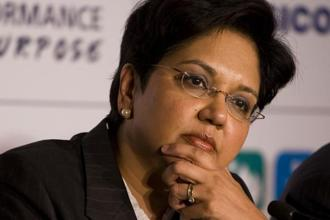 PepsiCo CEO Indra Nooyi joined Donald Trump's Strategic and Policy Forum on 14 December and hasn't spoken out against the administration since then. Photo: Mint