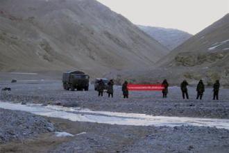 File photo. Indian Army on Tuesday foiled an attempt by China's People's Liberation Army (PLA) to enter India along the banks of the Pangong Tso lake in Ladakh. Photo: Reuters