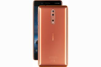 Nokia 8 runs the Qualcomm Snapdragon 835 processor, 4GB RAM and will have 64GB internal storage as well as a microSD card slot that will support up to 256GB more storage space.
