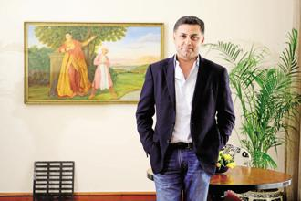 File photo. Nikesh Arora, who was at Softbank until recently, was Masayoshi Son's right-hand in making deals, helping to make the company the primary financier behind an anti-Uber alliance. Photo: Pradeep Gaur/Mint