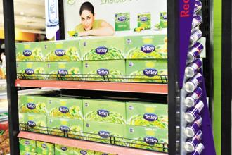 Tata Global Beverages has recently launched the Tetley brand in Poland for black tea. Photo: Priyanka Parashar/Mint