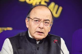 Arun Jaitley has requested chief ministers to reduce VAT on five petroleum products in order to give relief to the manufacturing sector from the higher tax outgo. Photo: Pradeep Gaur/Mint