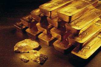 Pure gold prices firmed up by Rs175 to end at Rs 29,285 per 10 grams as compared to Rs 29,110 earlier. Photo: AP