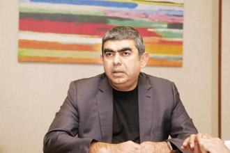 Vishal Sikka resigns as CEO, citing a stream of distractions and disruptions. Photo: Mint