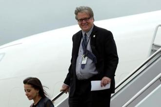 Stephen Bannon's exit caps a tumultuous four weeks in which a slew of senior officials have announced their departures from the White House. Photo: Reuters
