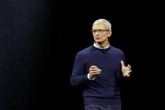 A file photo of Apple CEO Tim Cook. Photo: AP