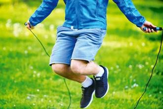 Skipping ropes and apples, handy for snacking, can be useful on a work trip. Photo: iStockphoto