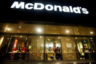 McDonald's 43 outlets have been closed since 29 June. Photo: Reuters