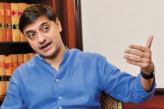 Sanjeev Sanyal, principal economic adviser in the finance ministry. The consolidation of public sector banks, which account for 80% of the bad loans in the banking system, is aimed at building scale and bolstering their risk-taking ability. Photo: Getty Images