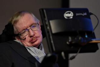 Stephen Hawking said the National Health Service (NHS) was 'a cornerstone of our society' but was in crisis created by political decisions. Photo: Reuters