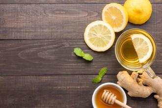 Add lemon and hot water to your morning routine. Photographs from iStockphoto