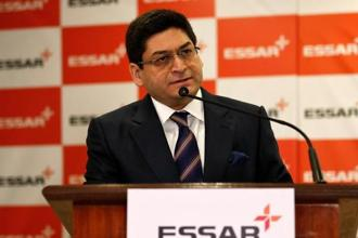Part of the proceeds from sale of Essar Oil to Rosneft to be used to repay Indian lenders including LIC, says Essar group director Prashant  Ruia. Photo: Reuters