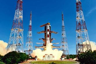 Earlier this year, ISRO launched 104 satellites in one go, using the Polar Satellite Launch Vehicle (PSLV), its most trusted launcher. Photo: PTI