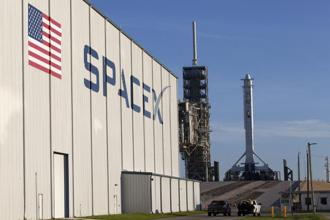 Elon Musk-owned SpaceX's first commercial launch in 2009 encouraged an ecosystem of space companies that were previously hindered by the cost of getting to orbit. Photo: AP