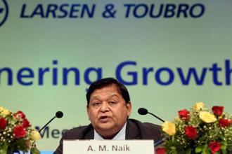 The 72nd L&T AGM was A.M. Naik's last as chairman, though he would continue to be non-executive chairman for the next three years. Photo: PTI