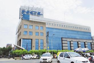 The HCL Infosystems stock soared 9.41% to settle at Rs47.10 on BSE. Photo: Ramesh Pathania/Mint