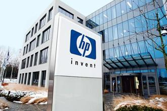 In the last 12 months, shares of HP Inc. have surged 29%, while the HP Enterprise stock has risen about 5.3%. Photo: Reuters