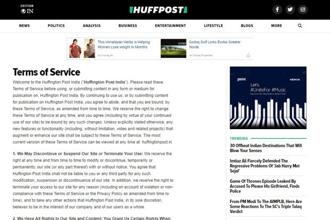 Huffington Post is part of a crowded digital news market in India where independent news sites are vying for eyeballs.