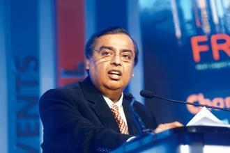 Reliance Industries chairman Mukesh Ambani. Photo: Abhijit Bhatlekar/Reuters