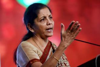 Nirmala Sitharaman said that film and music industry representatives have been in a constant engagement with the ministry on IPR issue. Photo: PTI